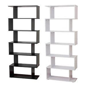 scaffali design homcom libreria di design in pannelli di particelle