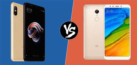comparaci 243 n xiaomi redmi note 5 vs redmi 5