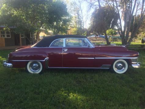 1952 Chrysler New Yorker by 1952 Chrysler Hemi New Yorker Convertible For Sale