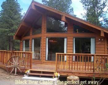 ruidoso cabin rentals black chalet