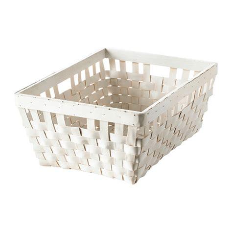 panier salle de bain ikea knarra panier blanc 38x29x16 cm ikea