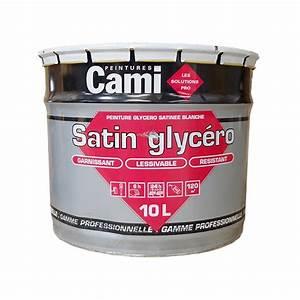 Peinture Blanche Pas Cher : cami peinture satin glyc ro pas cher en ligne ~ Dailycaller-alerts.com Idées de Décoration