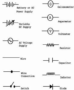 A Schematic Drawing Of A Real  Circuit Utilizes The