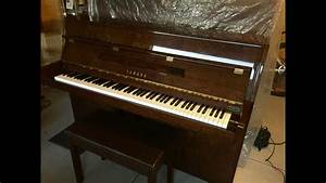 Yamaha C108 Piano  Before And After Piano Tuning  By