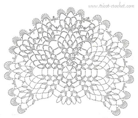 tuto napperon blanc au crochet tricot et crochet
