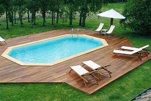 Bache Sol Jardin : piscine jardin bois images et photos arts et voyages ~ Teatrodelosmanantiales.com Idées de Décoration