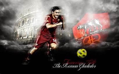 Totti Roma Gladiator Francesco Football Roman Club