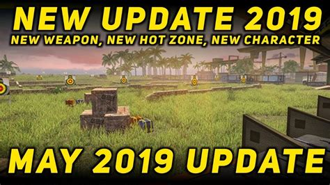 Free Fire New Update May 2019 Coming Soon