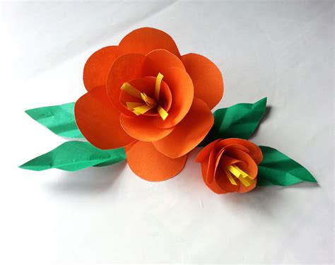 Diy Easy Paper Flower · How To Make A Flowers & Rosettes