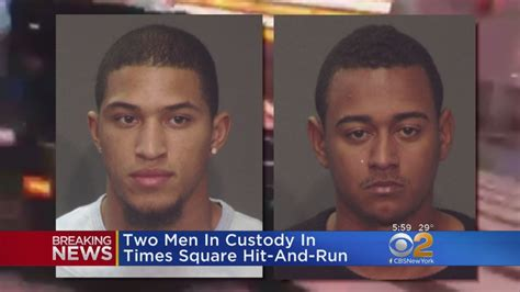 Times Square Hit And Run by Two Arrested In Times Square Hit And Run