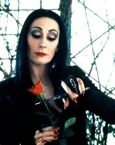 Addams Family Morticia Makeup