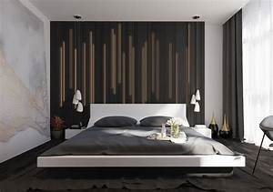 44 awesome accent wall ideas for your bedroom the home for Amazing options for accent wall ideas