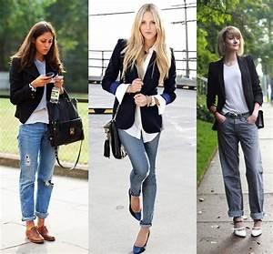 Cu00f3mo llevar jeans con blazer sin perder el estilo 6
