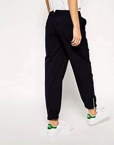 Pantalon Avec Bouton Sur Le Cote : asos white asos white pantalon de jogging avec fermeture clair sur le c t chez asos ~ Melissatoandfro.com Idées de Décoration