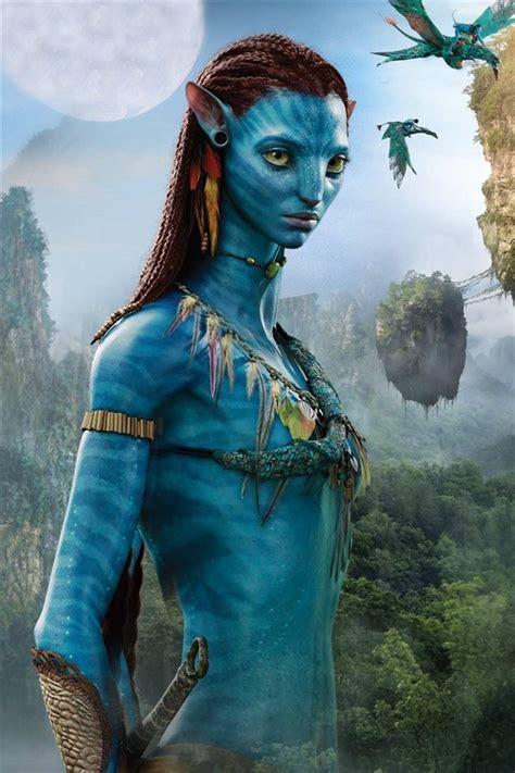 avatar blue girl iphone  gs wallpaper