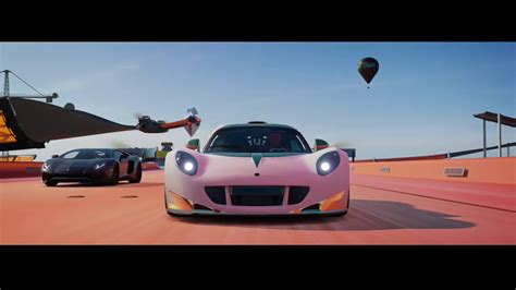 Forza Horizon 3 Hot Wheels Himmel Fahrt Mit Hennessey