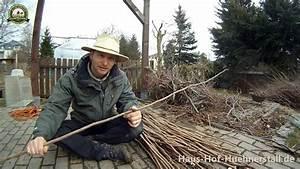 Weidenzaun Selber Bauen : flechtzaun aus haselnuss zur beeteinfassung garden ~ Watch28wear.com Haus und Dekorationen