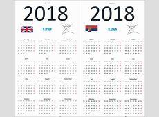 kalendar 2018 Baskanidaico