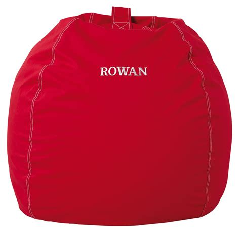 large personalized bean bag chair cover the land of nod