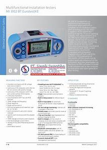 Metrel 3017 Instruction Manual
