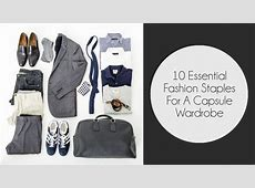 10 Must have Fashion staples for Men to build his Capsule