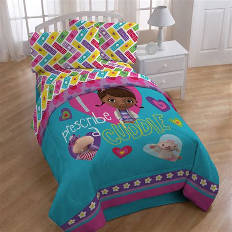 Doc Mcstuffins Bed Set by Doc Mcstuffins Bedding Comforter Walmart