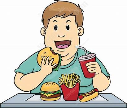 Eating Clipart Junk