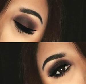 Maquillage Pour Yeux Marron : le maquillage pour yeux marron 51 id es en photos et vid os ~ Carolinahurricanesstore.com Idées de Décoration