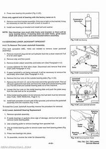 Bobcat 700 720 721 722 Skid Steer Service Manual