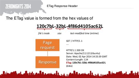 Apache Etag by Covert Timing Channels Using Http Cache Headers