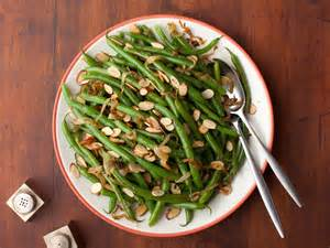 green beans with caramelized onions and almonds recipe florence food network