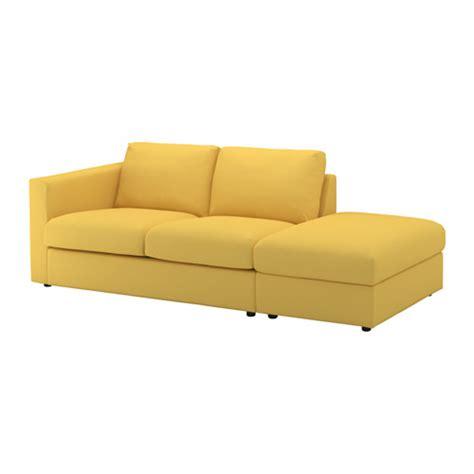 ikea canapé 3 places vimle canapé 3 places sans accoudoir orrsta jaune doré