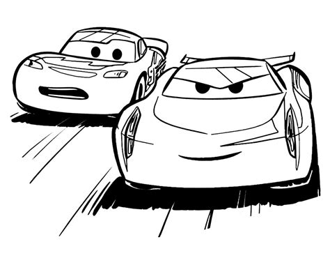 cars 3 disegni da colorare disegni da colorare cars 3 sogni d oro