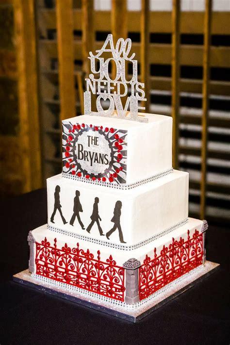 Beatles Wedding Cake Everything Beatles Beatles Cake
