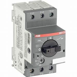 Abb Manual Motor Starter  Voltage  110