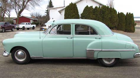 1949 Oldsmobile 88 Deluxe Sedan - YouTube