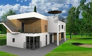 Haus Zeichnen 3d : haus selber planen mit der architektursoftware ~ Watch28wear.com Haus und Dekorationen