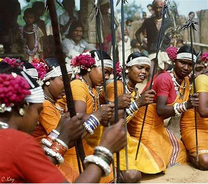 Tribe India Tribal Tribes Gond Indian Gonds