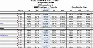 Salary Comparison Report
