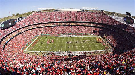 arrowhead stadium seating chart pictures directions