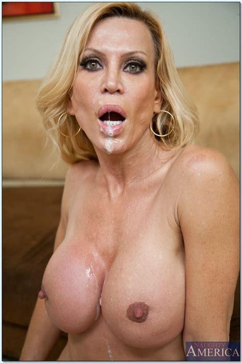 Hot Milf Porn Star Amber Lynn Swallowing Jizz Milf Fox