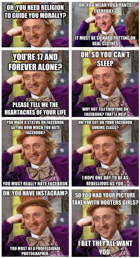 Condescending Willy Wonka Meme - funny condescending wonka memes image memes at relatably com