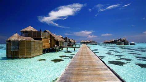 Luxury Resort In Maldives Hd Wallpaper