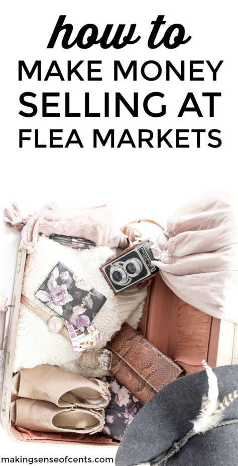 How To Make Money Selling At Flea Markets - Local Flea