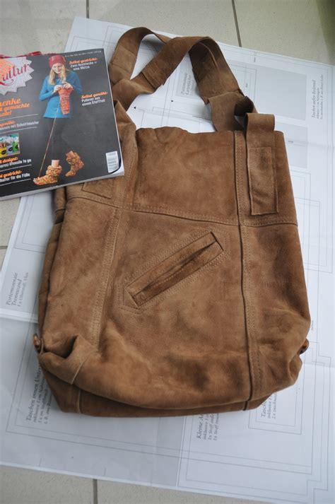 tasche aus alter jacke nr handmade kultur