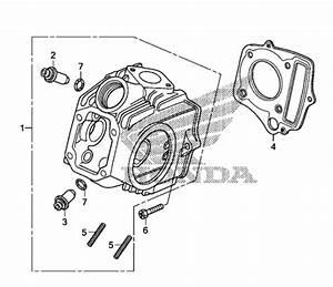 Honda 50  70 Exhaust Studs - 90033-041-020