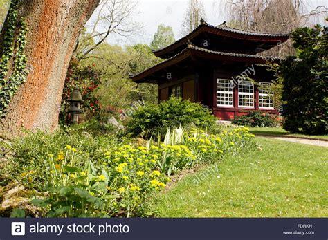 Japanischer Garten Leverkusen Teehaus by Japanese Garden Leverkusen Germany Stockfotos Japanese