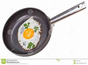 Scrambled Eggs On Teflon Pan Stock Photo - Image: 32574740