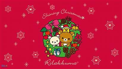 Christmas Kitty Hello Kawaii Backgrounds Wallpapers Rilakkuma
