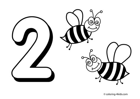 number  printable coloring pages  coloring pages